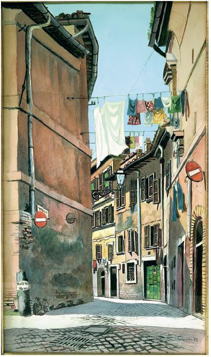 Roma – Vicolo del Gallo