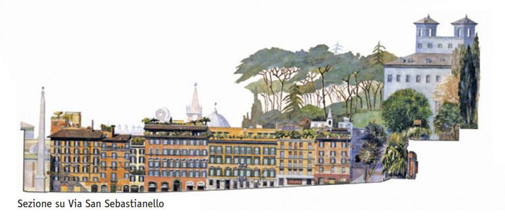 Piazza di Spagna – Via San Sebastianello