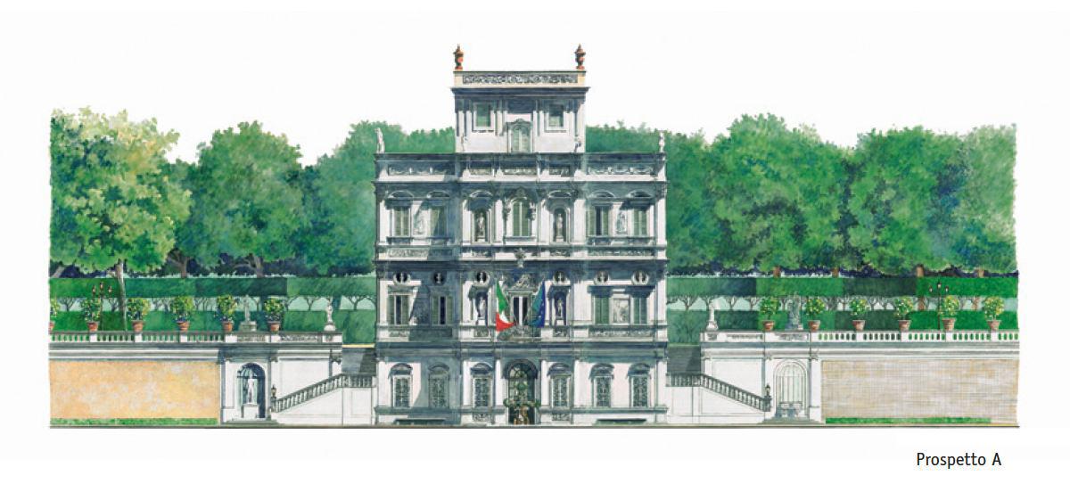 Villa Pamphili – Prospetto A