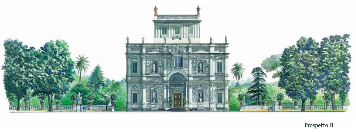 Villa Pamphili – Prospetto B