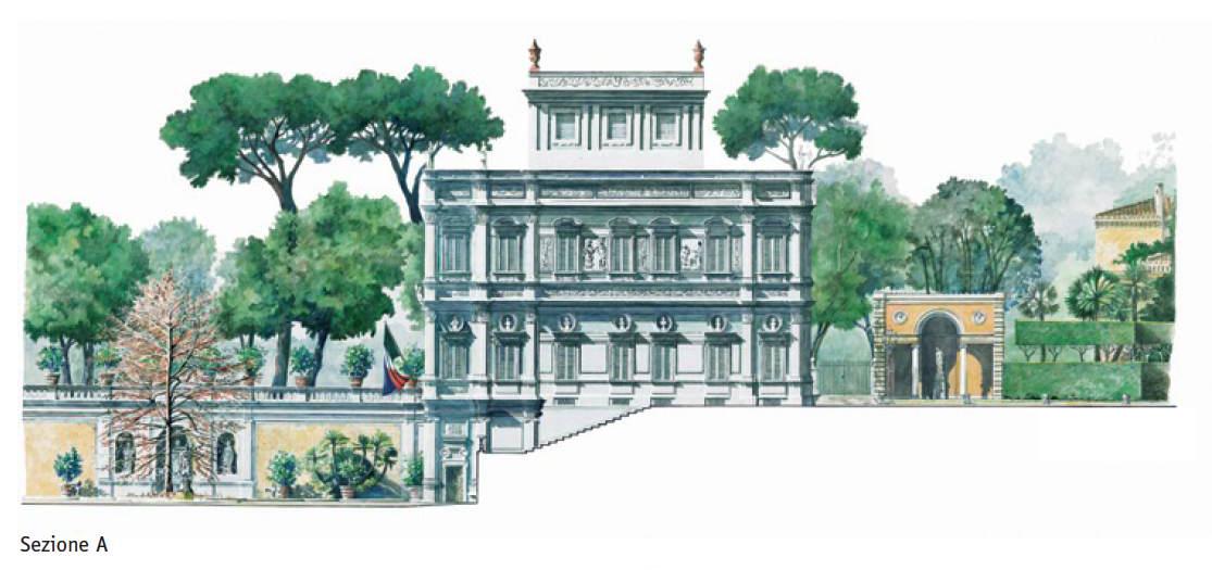 Villa Pamphili – Sezione A