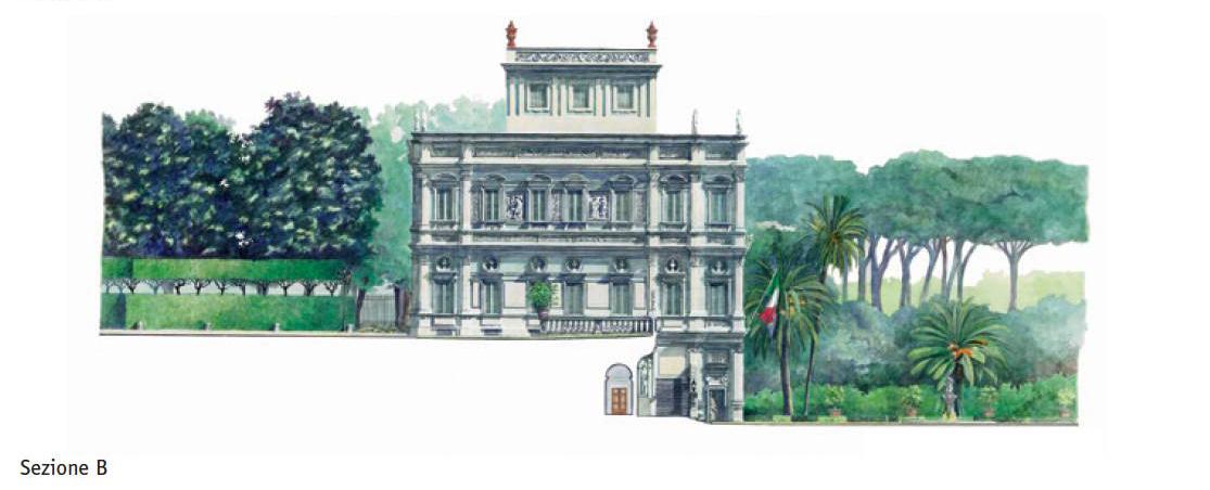 Villa Pamphili – Sezione B